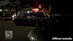 Policija na licu mjesta (rtcg.me)