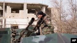 叙利亚政府军人