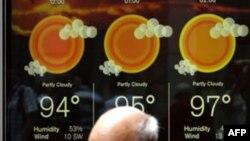 У Вашингтоні тримається 40-градусна спека