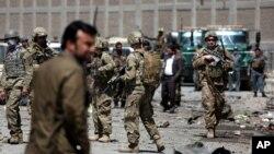 Vikosi vya Marekani, Kabul, Afghanistan, May 17, 2015.
