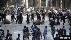 Mısır'daki Protestolar Devam Ediyor