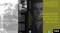 Bìa tác phẩm Y Sĩ Tiền Tuyến Nghiêm Sỹ Tuấn – Người Đi Tìm Mùa Xuân.