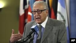 Utusan khusus PBB untuk Suriah, Lakhdar Brahimi menyatakan konferensi perdamaian Suriah tidak akan berlangsung sebelum bulan Juli (foto: dok).