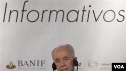 Presiden Israel Shimon Peres (foto: dok).