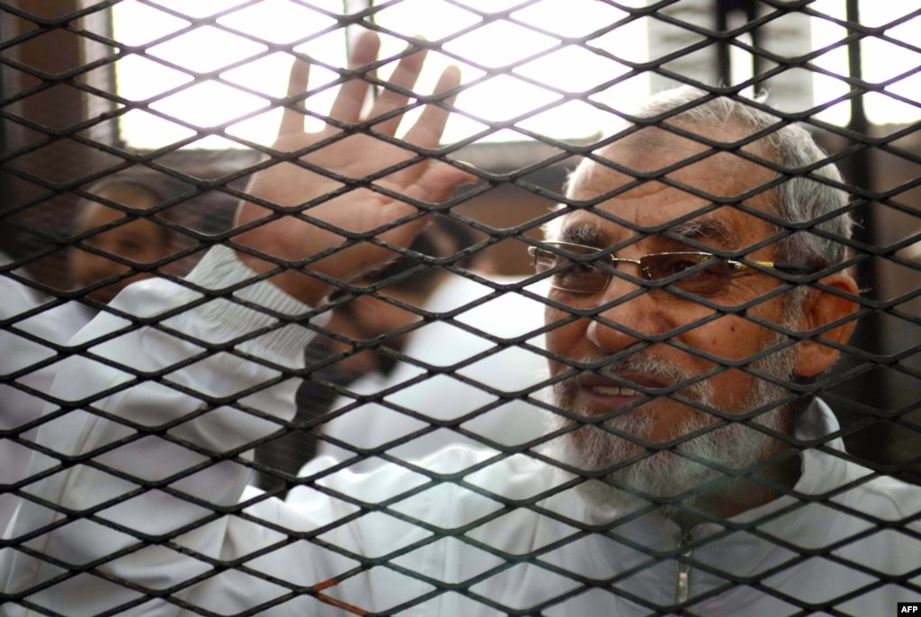Egyptian court confirms 183 death sentences, including Brotherhood chief
