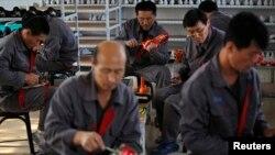 Công nhân Triều Tiên làm việc ở Trung Quốc.