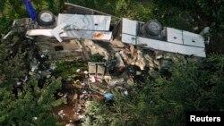 Poprište autobuske nesreće u Italiji