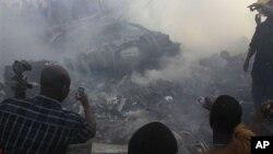Авиакатастрофа в Нигерии