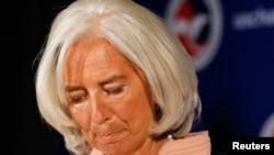 La patrone du FMI, Christine Lagarde, estime qu'il est urgent de relever le plafond de la dette