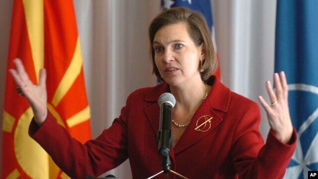 Phát ngôn viên Bộ Ngoại giao Hoa Kỳ Victoria Nuland.