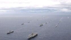 رزمایش مشترک امریکا و ژاپن آغاز شد