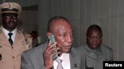 Presiden Guinea Alpha Conde. (Foto: Reuters)