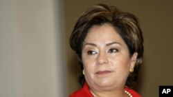 Mexican Foreign Minister, Patricia Espinosa (File)