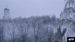 В парке Коломенское в Москве 26 декабря 2010 года