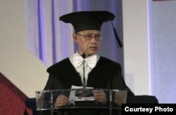 Haedar Nashir dikukuhkan sebagai Guru Besar di Universitas Muhammadiyah Yogyakarta. (Foto: Humas UMY)