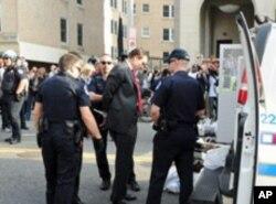 华盛顿市长格雷公民抗命被捕
