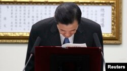 Presiden Taiwan Ma Ying-jeou minta maaf atas kekalahan partainya dalam pemilu lokal, dan mundur sebagai Ketua Partai Kuomintang Rabu (3/12).