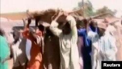 'Yan Boko Haram Sun Sake Abka wa Konduga, Jihar Borno, Fabrairu 12, 2014.
