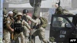 Солдаты Сил безопасности Афганистана