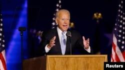 Democratic 2020 U.S. presidential nominee Joe Biden
