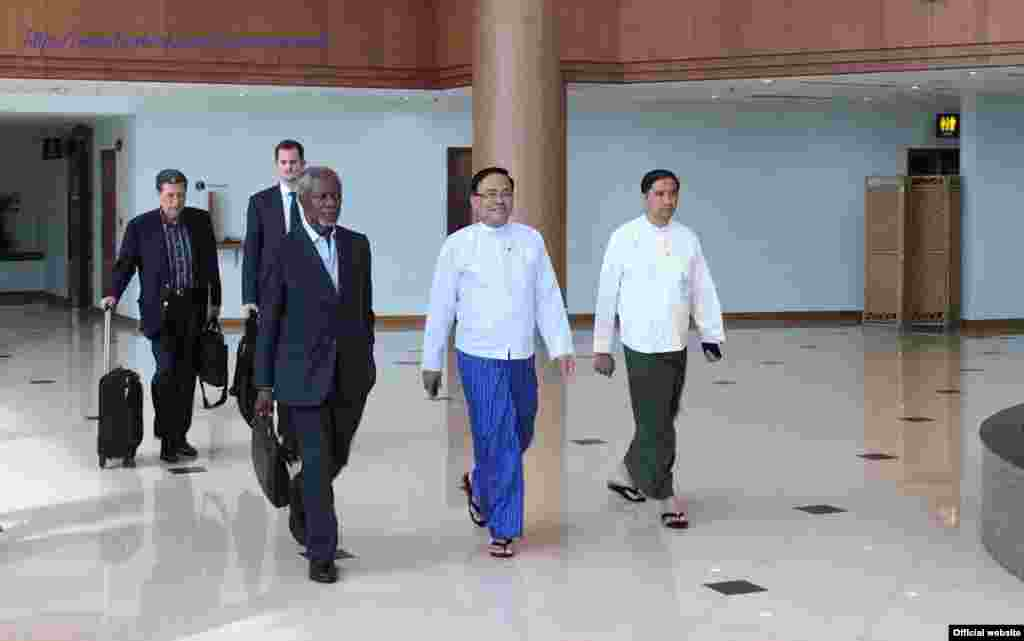 Kofi annan (Ministry of Foreign Affairs Myanmar)