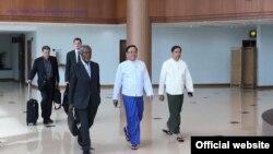 ရခိုင္အၾကံေပးေကာ္မရွင္ ဥကၠဌ Kofi Annan (Ministry of Foreign Affairs Myanmar)