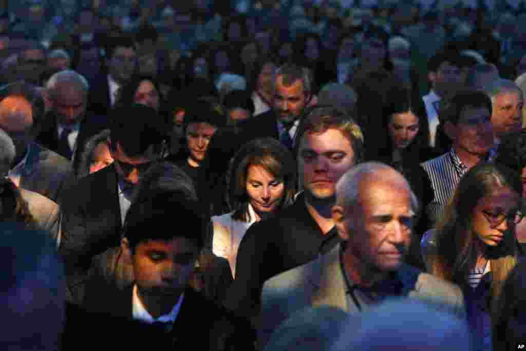 Minut ćutanja na obeležavanju 20-godišnjice otvaranja muzeja Holkausta u Vašingtonu.