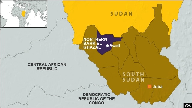 Northern Bahr el Ghazal, South Sudan