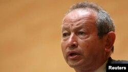 Le milliardaire égyptien Naguib Sawiris, président du groupe Orascom TMT Investments (OTMTI), 2 juin 2010.