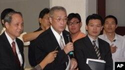 台湾前副总统吴敦义(资料照片)