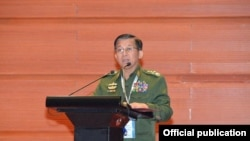 union peace conference (photo: Senior General Min Aung Hlaing)