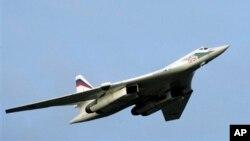 El bombardero ruso TU-160, capaz de portar misiles crucero con cabezas nucleares.