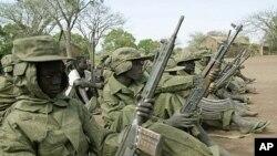 Wanajeshi wa SPLA Sudan Kusini