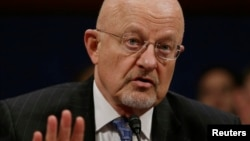 FILE - U.S. intelligence chief James Clapper appears before lawmakers on Capitoll Hill in Washington Feb. 4, 2014.