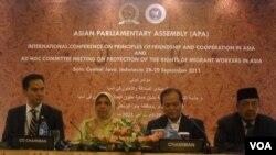 Konferensi Parlemen Asia di Solo (29/9).