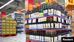 上海超市展品柜台
