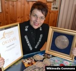 Kati Zsigó (Kati Zsigónéi Kati via Wikimedia Commons)