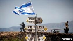 Golan ကုန္းျမင့္ေဒသမွာ႐ွိတဲ့ အစၥေရး စစ္စခန္းေတြ။