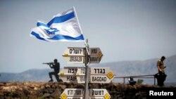 Leşkerên Îsraîlê li Golanê