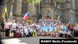День вишиванки у Празі