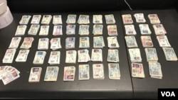 路易斯维尔的CBP官员没收了2909张伪造的驾照。