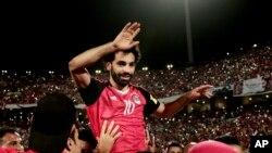 Umukinyi w'umupira w'amaguru Mohamed Salah ukomoka mu gihugu ca Misiri