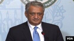 Juru bicara kementerian luar negeri Pakistan, Qazi Khalilullah mengukuhkan kembali dukungan Islamabad bagi perdamaian di Afghanistan (foto: dok).