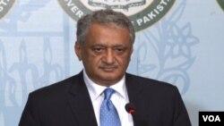 FILE - Pakistan Foreign Ministry spokesman Qazi Khalilullah.
