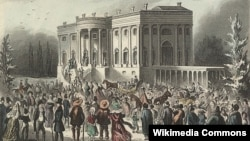 Andrew Jackson Inauguration in 1829