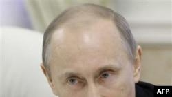 Премьер-министр РФ Владимир Путин. Москва. Россия. 21 декабря 2010 года
