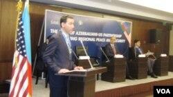 """Azərbaycan-ABŞ əməkdaşlığının regionda sülh və təhlükəsizliyin təmin edilməsində rolu"""" mövzusunda beynəlxalq konfrans"""