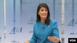 سفیر امریکا در ملل متحد گفت که ایران باید تنبیه شود و تحریم به گفتۀ وی یک تنبیه مناسب است