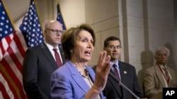 Nancy Pelosi a eu des mots durs pour ses collègues républicains, sur l'impact de la fermeture partielle de la fonction publique américaine