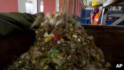 北京的一個垃圾處理站